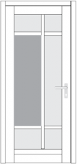 ДНСIV68ПУ00216d-950*2100